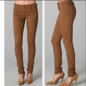 Joe's Skinny Visionaire Caramel Chino Ankle Pants